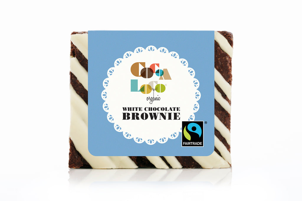 White Chocolate Brownie  – Individual