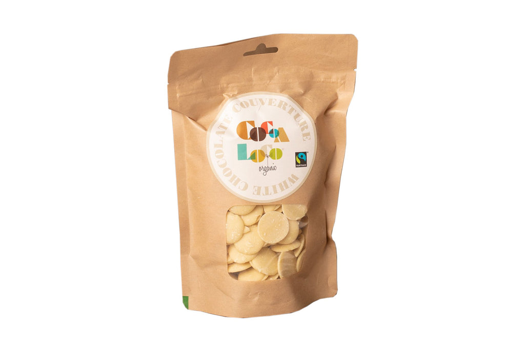 White Chocolate Couverture 500g