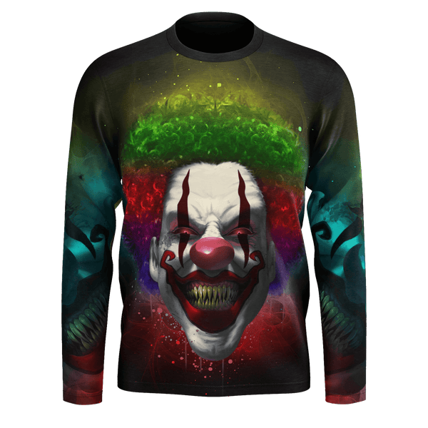 Crazy Clown Eyes Long Sleeve