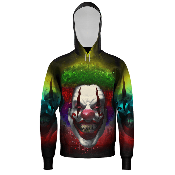 Crazy Clown Eyes Hoodie