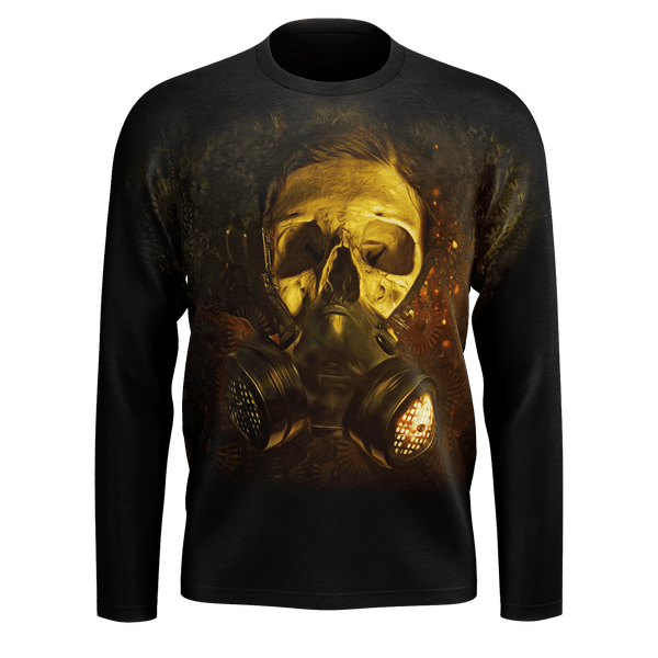 Gas Mask Skull Long Sleeve