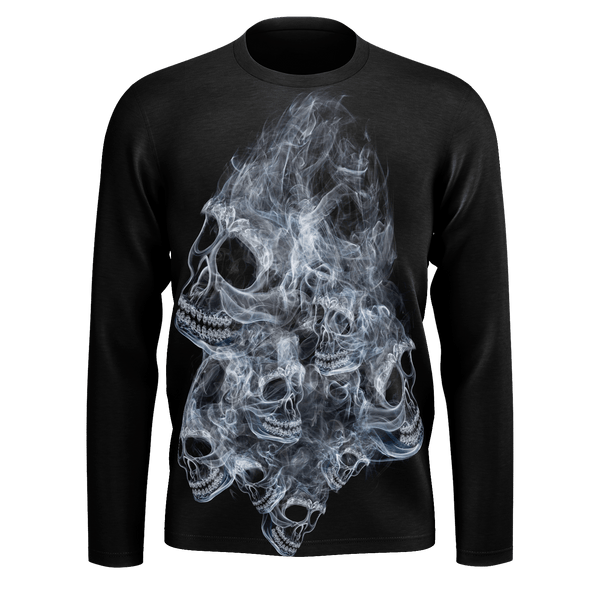 Ghost Skull Long Sleeve