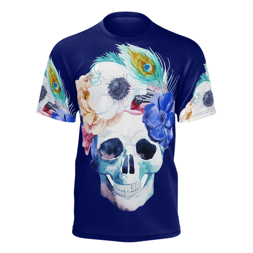 Blooming Skull T-Shirt