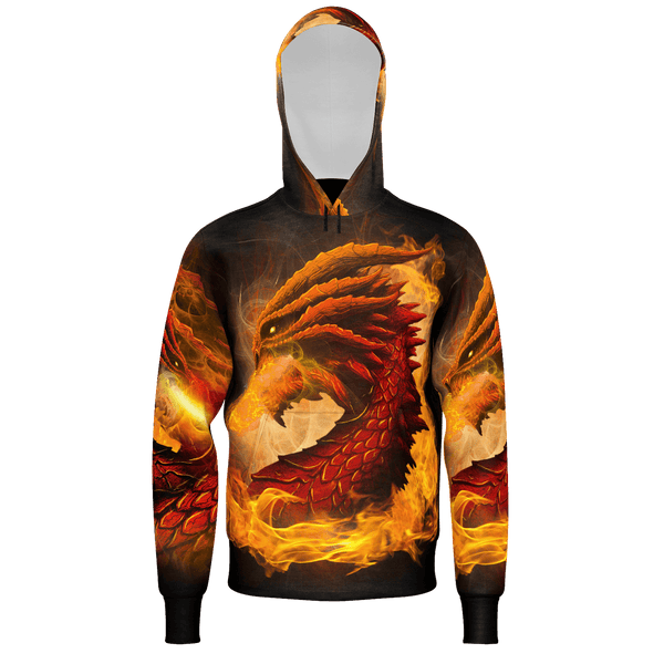 Fire-Breathing Dragon Hoodie