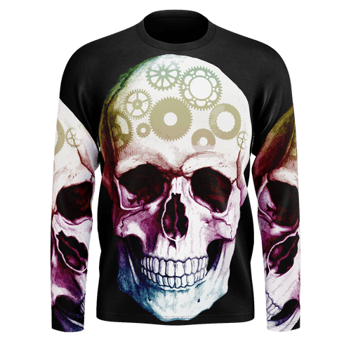 Brainiac Skull Long Sleeve