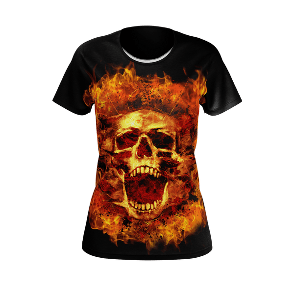 Flaming Scream Women's T-Shirt