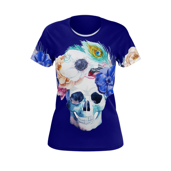 Blooming Skull Women's T-Shirt
