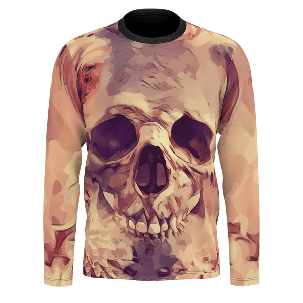 Rose Skull Long Sleeve