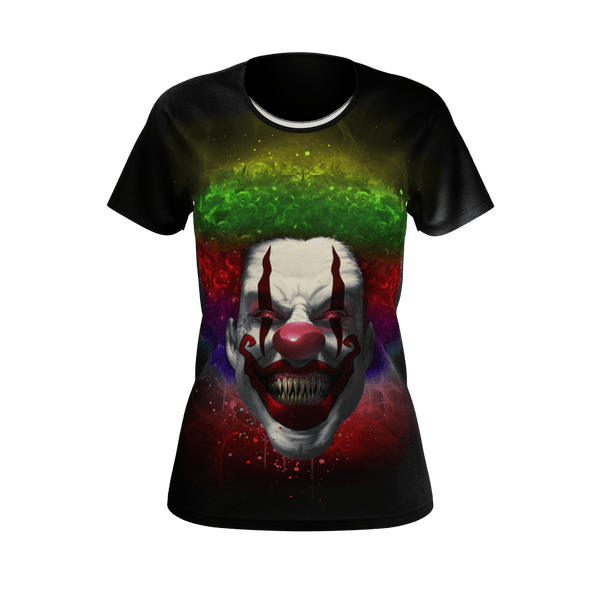 Crazy Clown Eyes Women's T-Shirt