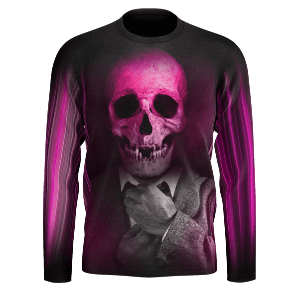 Show Time Skull Long Sleeve