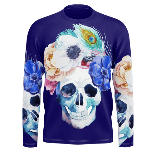 Blooming Skull Long Sleeve