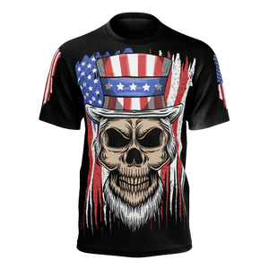 Independence Skull T-Shirt