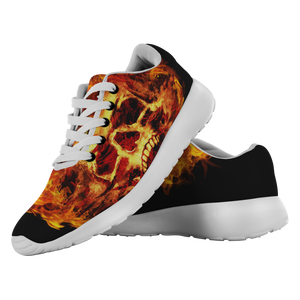 Flaming Scream Shoes
