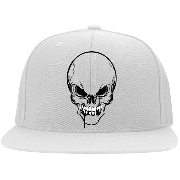 Thirsty Skull Flat Bill Flexfit Cap