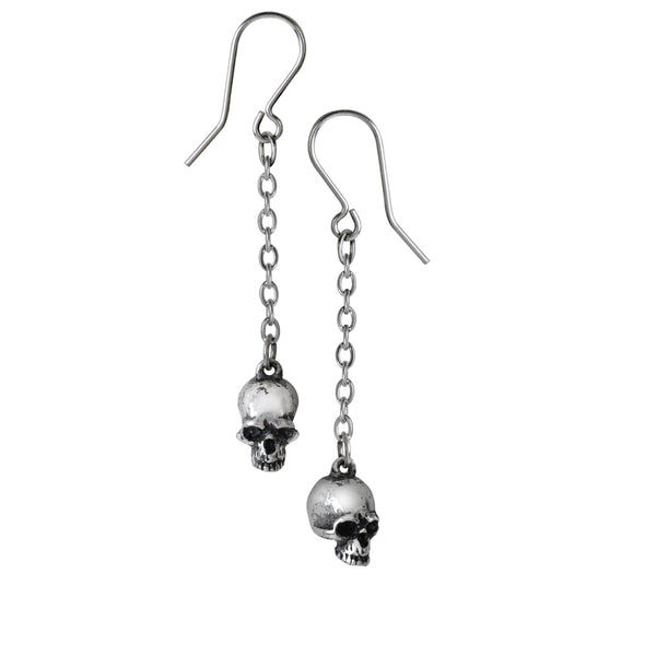 Skull and Skeleton Earring Collection