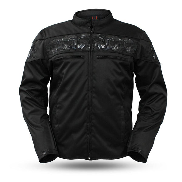 Savage Skulls Textile Jacket