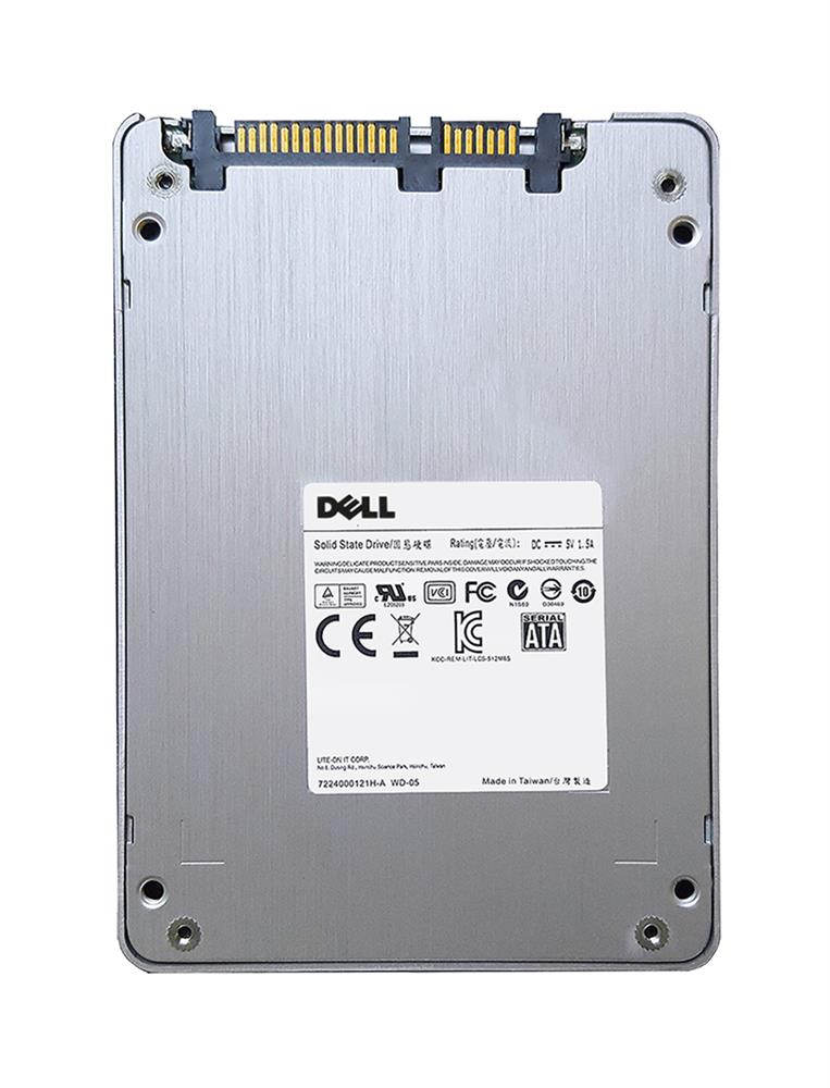 XDT71 | Dell 1.6TB MLC PCI Express 3.0 x4 NVMe Hot Swap U.2 2.5-inch Internal Solid State Drive