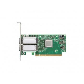540-BBQH | Dell Mellanox ConnectX-4 Dual-Port 100GbE QSFP28 PCI Express 3.0 X16 Network Interface Card