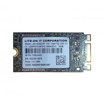 735314-001 | HP 16GB SATA 6Gbps M.2 2242 D2 Solid State Drive