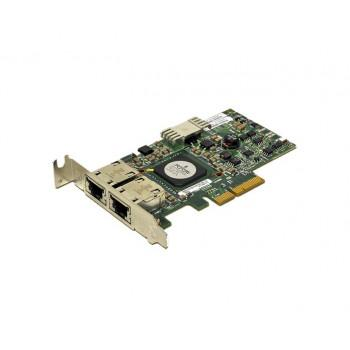 H914R | Dell Broadcom Gigabit Ethernet Dual Port PCI-Express Server Network Adapter LP