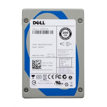 Y0KT0 | Dell 200GB SAS Mainstream SLC 6Gbps 2.5-inch Hot-pluggable Solid State Drive in 3.5-inch Hybrid Carrier