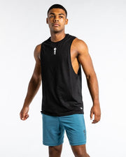 WIT Vertical Logo Drop Armhole Tank