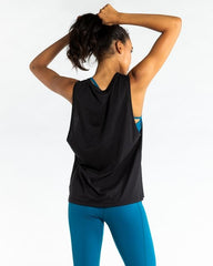 WIT Vertical Logo Muscle Tank