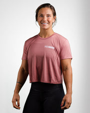 Vogue Fitness Crop T-Shirt