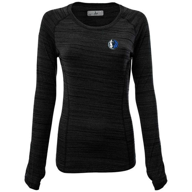 DALLAS MAVERICKS LEVELWEAR WOMENS VERVE PARIS LONG SLEEVE TEE