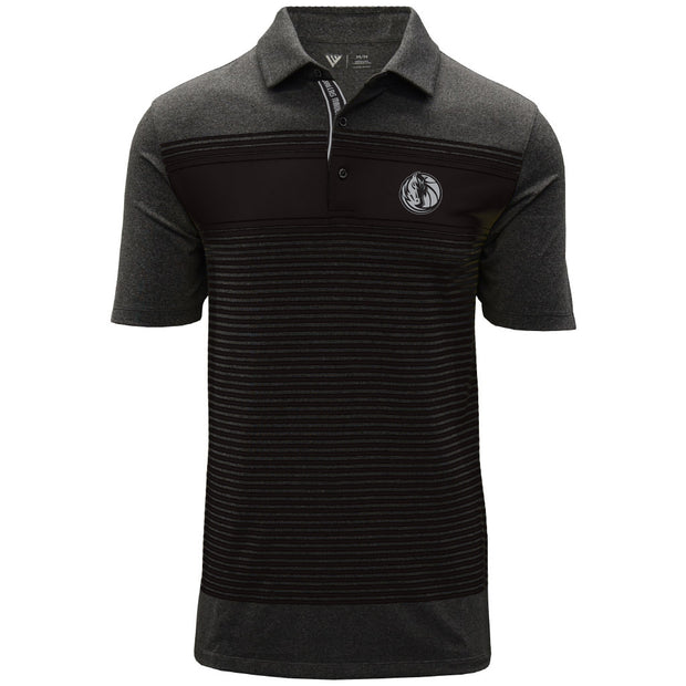 DALLAS MAVERICK LEVELWEAR SONIC STRIPED POLO