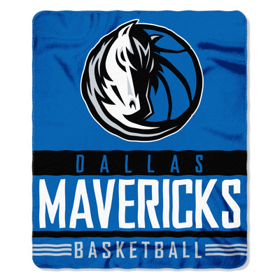 DALLAS MAVERICKS HORSE HEAD FLEECE THROW BLANKET