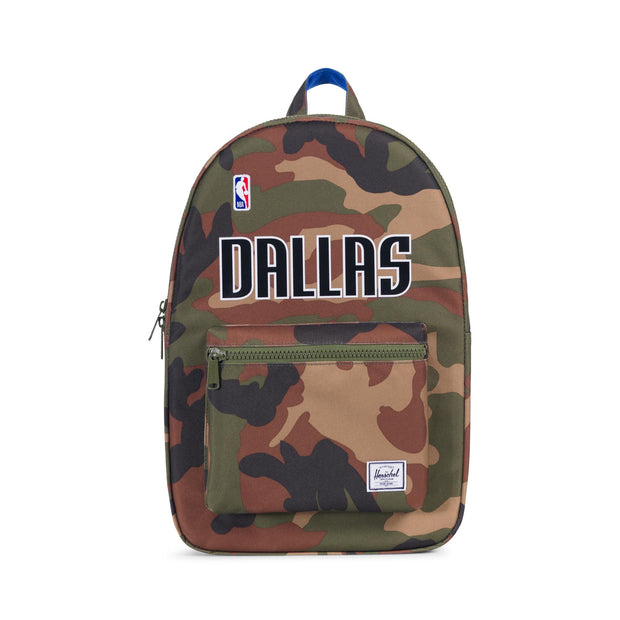 DALLAS MAVERICKS HERSCHEL SUPPLY COMPANY CAMO SETTLEMENT BACKPACK