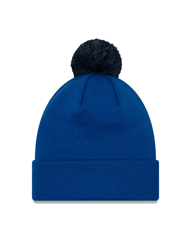 DALLAS MAVERICKS NEW ERA FREE THROW ROYAL KNIT HAT