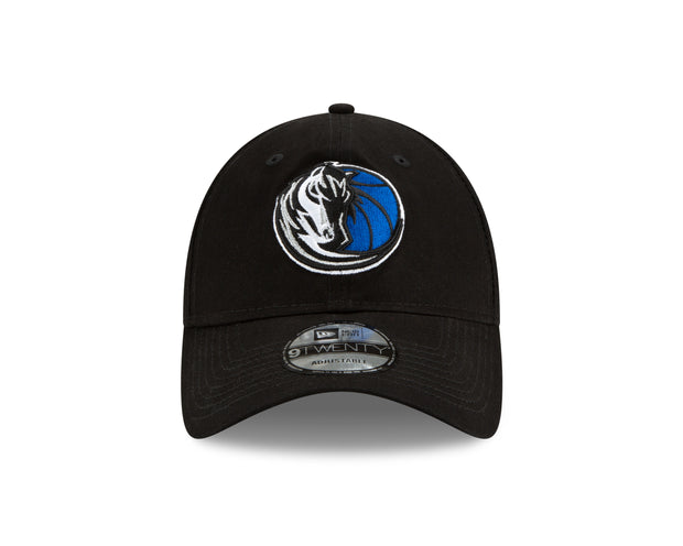 DALLAS MAVERICKS NEW ERA FREE THROW 920 BLACK CAP