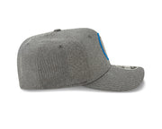 DALLAS MAVERICKS NEW ERA 950 GREY TRAINING SNAP CAP