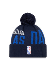 DALLAS MAVERICKS NEW ERA TIP OFF SERIES KNIT HAT