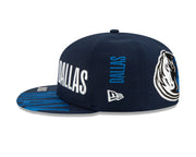 DALLAS MAVS NEW ERA TIPOFF SNAPBACK NAVY CAP