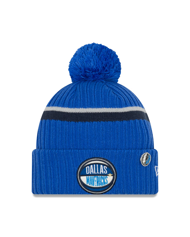 DALLAS MAVERICKS 2019 NEW ERA DRAFT KNIT CAP