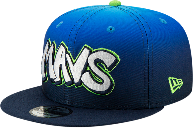DALLAS MAVERICKS NEW ERA CITY EDITION 19-20 9FIFTY BLUE/GREEN CAP