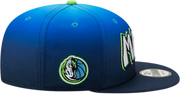 DALLAS MAVERICKS NEW ERA YOUTH CITY EDITION 19-20 9FIFTY BLUE/GREEN SNAPBACK CAP