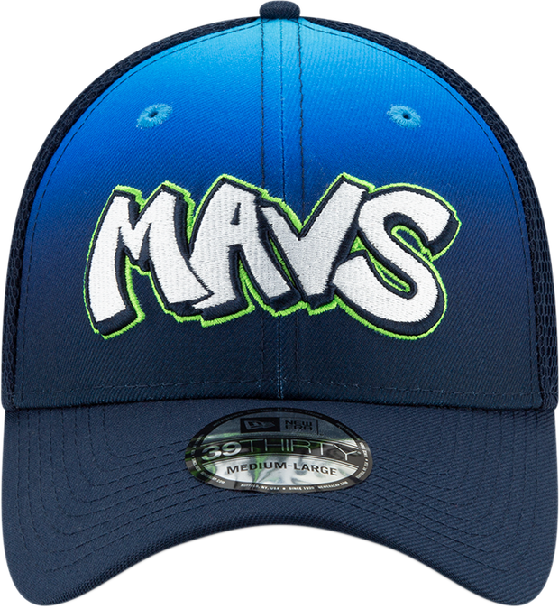 DALLAS MAVERICKS NEW ERA CITY EDITION 19-20 39THIRTY BLUE/GREEN CAP