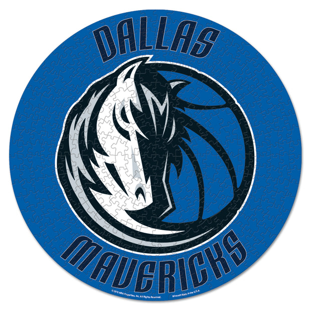 DALLAS MAVERICKS 500 PC ROUND PUZZLE