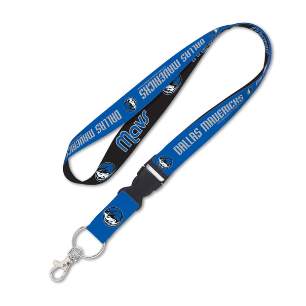 DALLAS MAVERICKS WORDMARK KEYSTRAP LANYARD