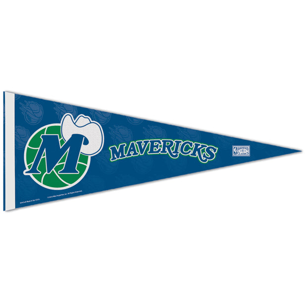DALLAS MAVERICKS HWC M-HAT LOGO PENNANT