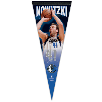 DALLAS MAVERICKS DIRK NOWITZKI PENNANT
