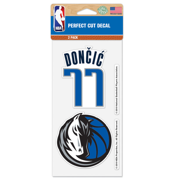 DALLAS MAVERICK LUKA DONČIĆ 2 PACK DECALS