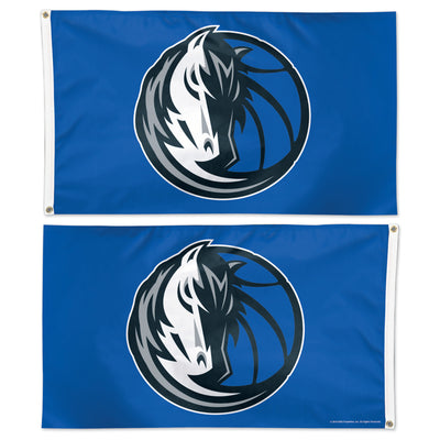 DALLAS MAVERICKS HORSEHEAD 3X5 FLAG