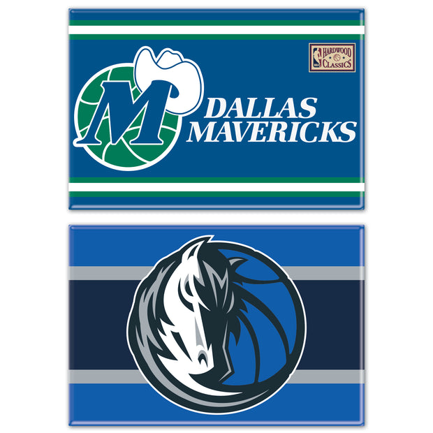 DALLAS MAVERICKS 2 PACK MAGNETS HH HWC