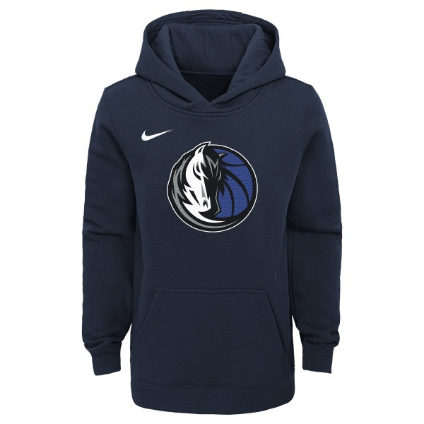 DALLAS MAVERICKS NIKE YOUTH ESSENTIAL NAVY HOODIE