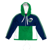 DALLAS MAVERICKS MITCHELL & NESS WOMENS HARDWOOD CLASSIC WINDBREAKER